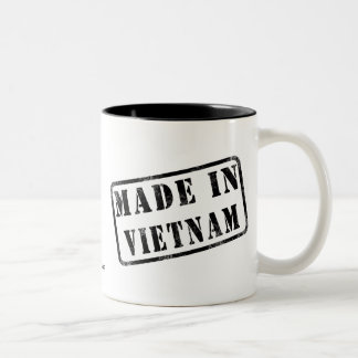 Hecho en Vietnam Taza De Dos Tonos