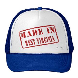 Hecho en Virginia Occidental Gorra