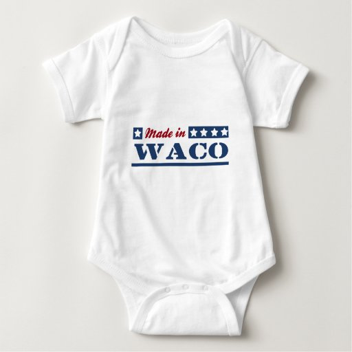 Hecho en Waco Remeras