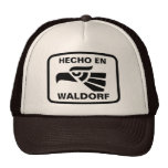 Hecho en Waldorf personalizado custom personalized Trucker Hats
