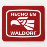 Hecho en Waldorf personalizado custom personalized Mouse Mats