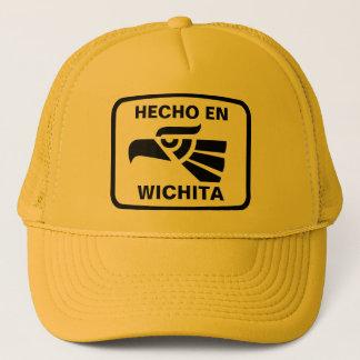 Hecho en Wichita personalizado custom personalized Trucker Hat