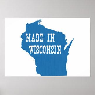 Hecho en Wisconsin Póster