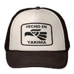 Hecho en Yakima  personalizado custom personalized Trucker Hat