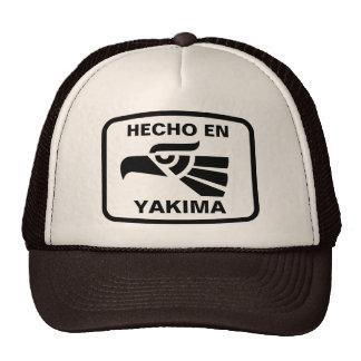 Hecho en Yakima  personalizado custom personalized Hat