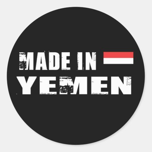 Hecho en Yemen Etiquetas