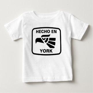 Hecho en York  personalizado custom personalized T-shirts