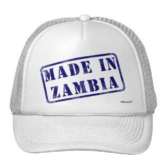 Hecho en Zambia Gorras