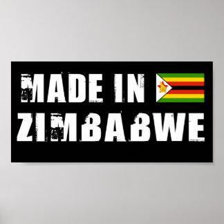 Hecho en Zimbabwe Impresiones