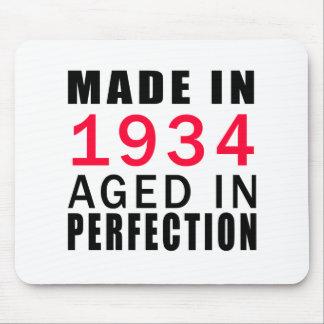 Hecho envejecido en 1934 en la perfección alfombrilla de ratones