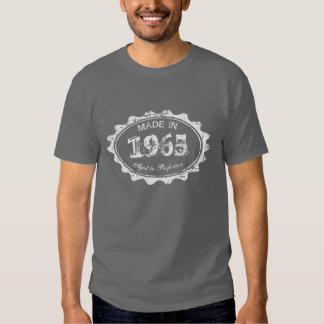 Hecho envejecido en 1965 a la camiseta del poleras