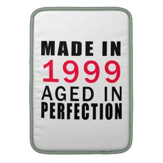 Hecho envejecido en 1999 en la perfección funda macbook air