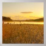 hecho excursionismo por el lago impresiones
