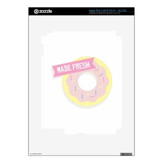 Hecho fresco pegatina skin para iPad 3