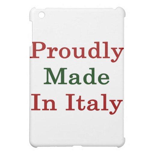 Hecho orgulloso en Italia