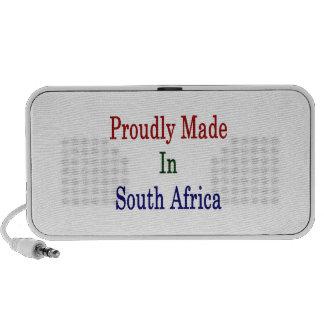 Hecho orgulloso en Suráfrica Mini Altavoz