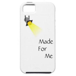 Hecho para mí la caja del teléfono del proyector funda para iPhone SE/5/5s