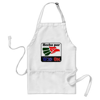 HECHO POR WEB ON CUSTOMIZABLE PRODUCTS ADULT APRON