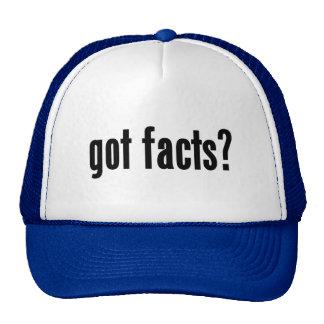 ¿hechos conseguidos? gorras de camionero
