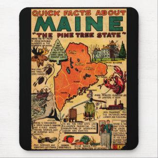 Hechos rápidos sobre Maine Mousepad