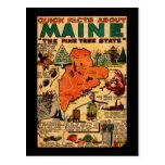 Hechos rápidos sobre Maine Tarjeta Postal