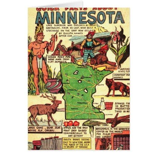 Hechos rápidos sobre Minnesota Tarjetón