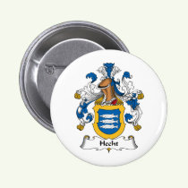 Hecht Family Crest Button