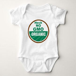 Heck No GMO Orgainc T-shirt
