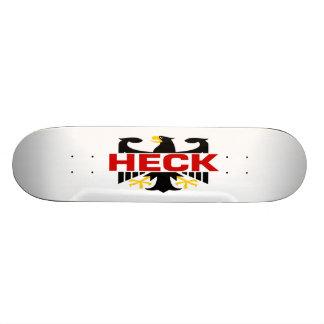 Heck Surname Skate Deck
