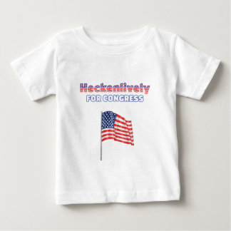 Heckenlively for Congress Patriotic American Flag Tee Shirt