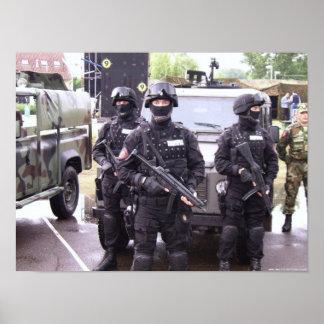 Heckler & Koch MP5 - Serbian Police Poster