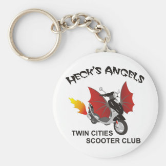 Hecks Angel's key chain