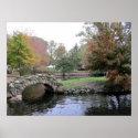 Heckscher Park, Huntington, Long Island, New York print