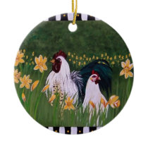 Hecror & Heneritta Ceramic Ornament