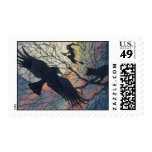 Hectic Halloween Postage Stamp
