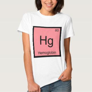 Hectogramo - Camiseta de la sangre del símbolo del Playera