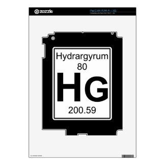 Hectogramo - Hidrargiro iPad 2 Calcomanía