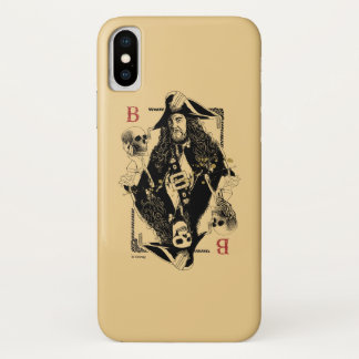 Hector Barbossa - Ruler Of The Seas iPhone X Case