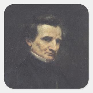 Hector Berlioz  1850 Square Sticker