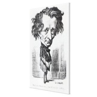 Hector Berlioz Lienzo Envuelto Para Galerías