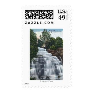 Hector Falls near Seneca Lake View Postage