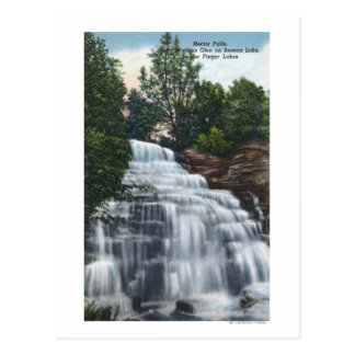Hector Falls near Seneca Lake View Postcard
