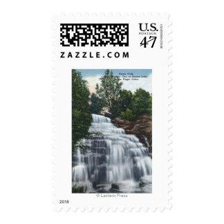 Hector Falls near Seneca Lake View Stamp