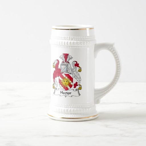 Hector Family Crest 18 Oz Beer Stein