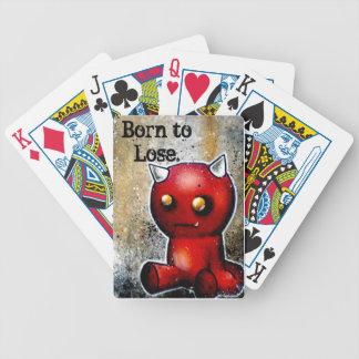 Hector llevado para perder la cubierta del póker baraja de cartas