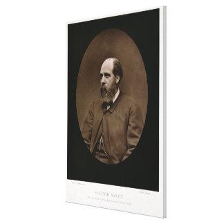Hector Malot (1830-1907), de 'Galerie Contempora Lienzo Envuelto Para Galerías