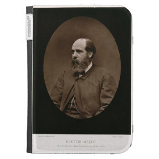 Hector Malot (1830-1907), from 'Galerie Contempora Kindle 3 Case