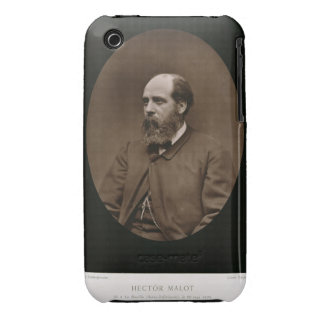 Hector Malot (1830-1907), from 'Galerie Contempora iPhone 3 Case-Mate Cases