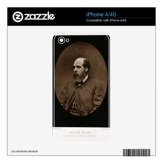 Hector Malot (1830-1907), from 'Galerie Contempora Skins For iPhone 4S