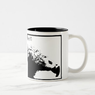 Hector - negro básico taza